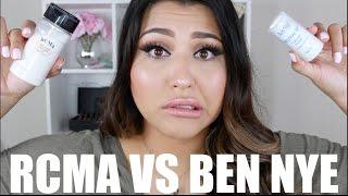 RCMA VS. BEN NYE COLORLESS : DEMO + REVIEW