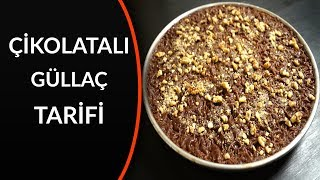 çikolatalı güllaç yapımı - çikolatalı güllaç nasıl yapılır?