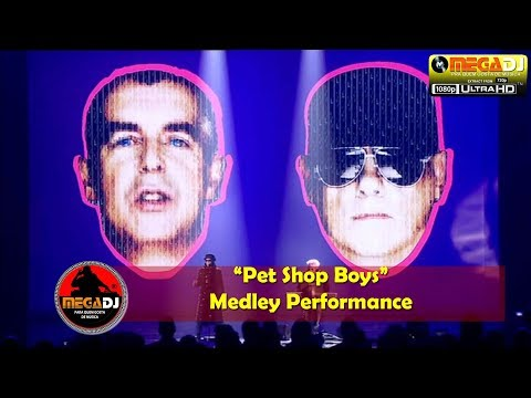Pet Shop Boys - Medley Performance (Live Show 1080p) ✪ MegaDJ Hist 80