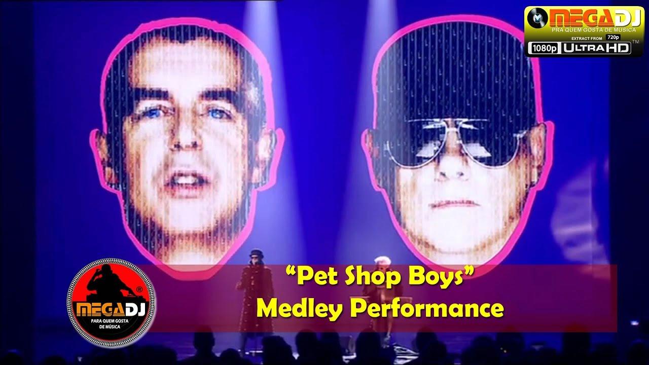Pet Shop Boys - Medley Performance (Live Show 1080p) ✪ MegaDJ Hist 80