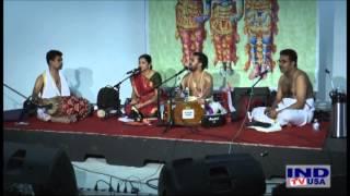 Sri Kadayanallur Rajagopal Bhagavathar - Seetha Kalyanam & DivyaNamam  IND TV Hall, Milpitas, CA.