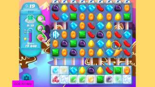 Candy Crush SODA SAGA level 665 NO BOOSTERS Hard level.