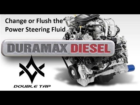 Flush or Changing Power Steering Fluid in a Duramax