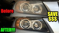 HEADLIGHT RESTORATION MAGIC!!!