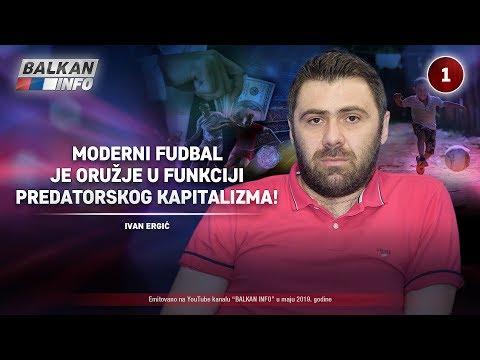 INTERVJU: Ivan Ergić - Moderni fudbal je oružje u funkciji predatorskog kapitalizma! (4.5.2019)