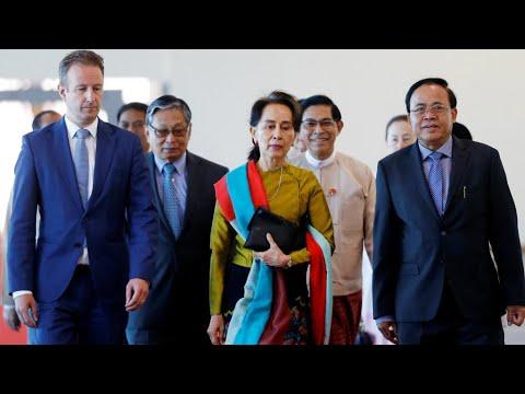 أونغ سان سو تشي ستدافع شخصيا عن بلادها أمام محكمة العدل في قضية الروهينغا  - نشر قبل 2 ساعة