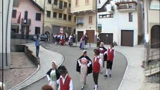 Raduno Regionale gruppo folklorici Lombardia - Fitp 2016 Gorno - La sfilata dei gruppi