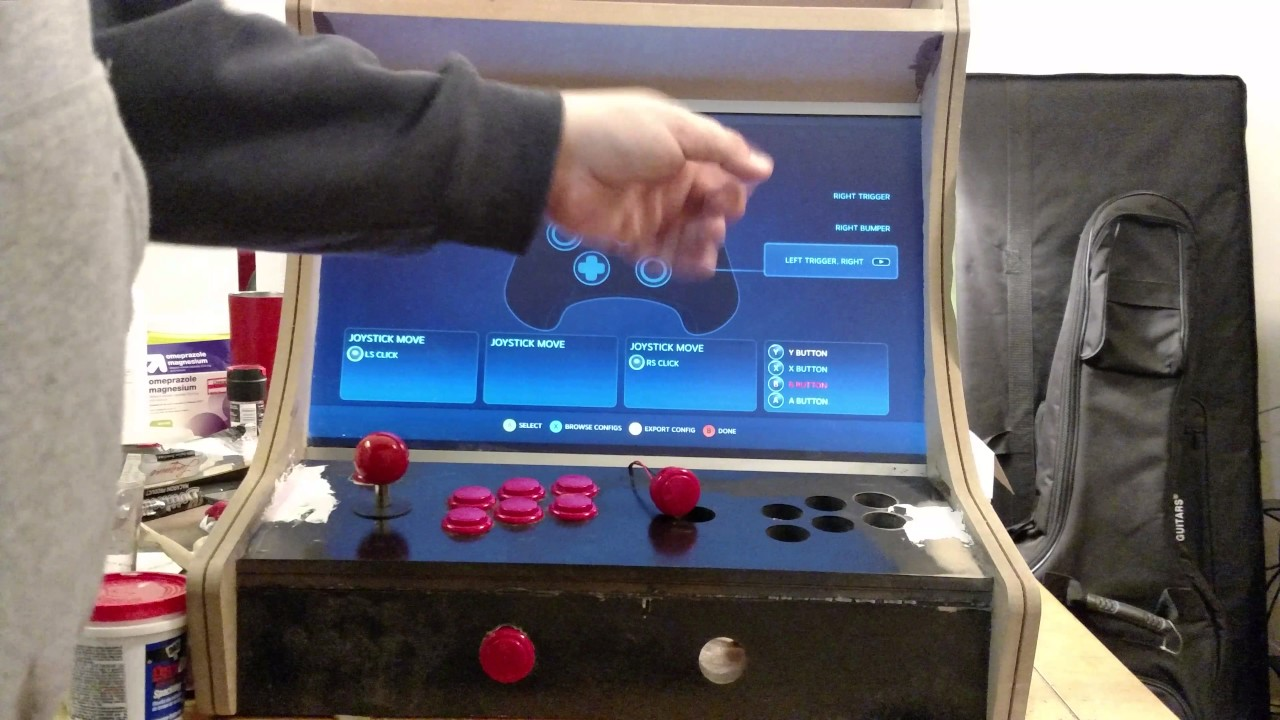 Steam link bartop arcade update 3 - YouTube