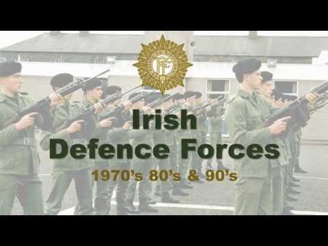 Irish Defence Forces - 1970's 80's & 90's