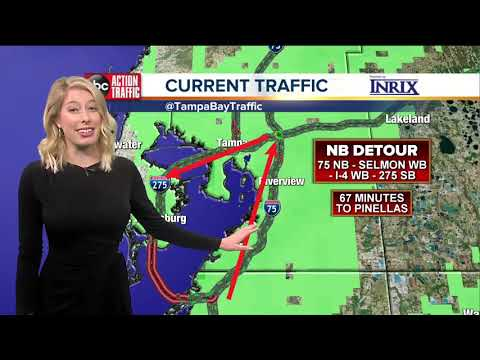 Sunshine Skyway Bridge Closed To All Traffic Due To High Winds