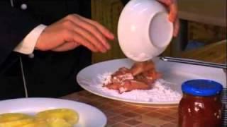 Китайская кухня, свинина в кисло сладком соусе(Чайный клуб