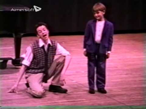 Eric Millegan's Curtain Call- The University of Michigan 1995