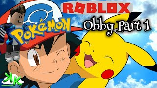 ROBLOX Pokemon OBBY Part 1 Game Play on Xbox One - 151 Kanto Pokemon and Levels