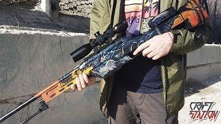 КАК СДЕЛАТЬ SSG 08 DRAGON FIRE В РЕАЛЬНОЙ ЖИЗНИ (CS:GO/DIY)