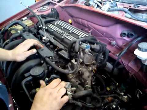 Citroen ZX 16v new engine first start up  YouTube