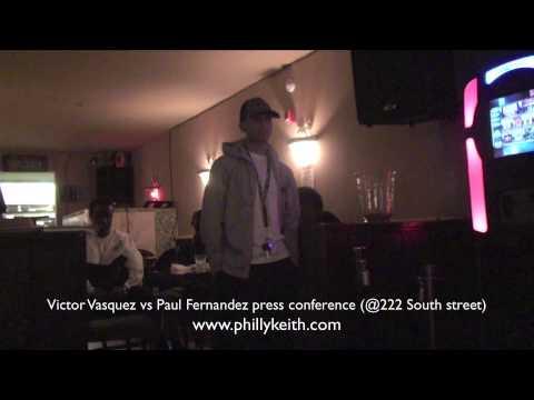 Philly Boxing - Victor Vasquez vs. Paul Fernandez ...