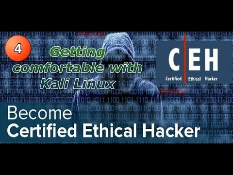How To Become a Hacker : 4. Getting comfortable with Kali Linux