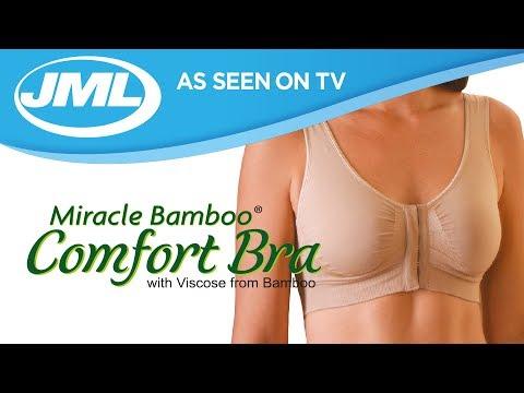 Miracle Bamboo Bra from JML - YouTube