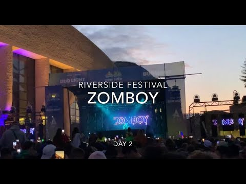 ZOMBOY Live - @ RIVERSIDE Music Festival - BUD LIGHT STAGE - Gatineau, Quebec (Day 2)