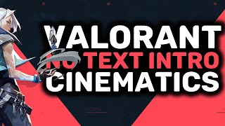 Valorant No Text Intro Templates | Cinematics Pack Included | Free Download