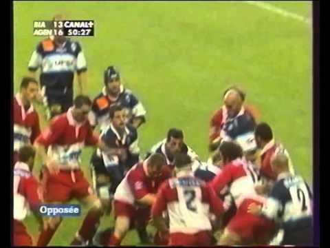 Finale TOP16 2002 Biarritz Olympique VS Agen