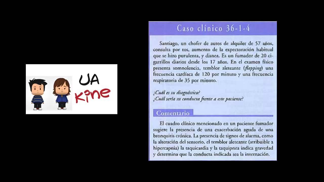 Semiologia Caso Clinico 3 - Bronquitis Cronica - YouTube