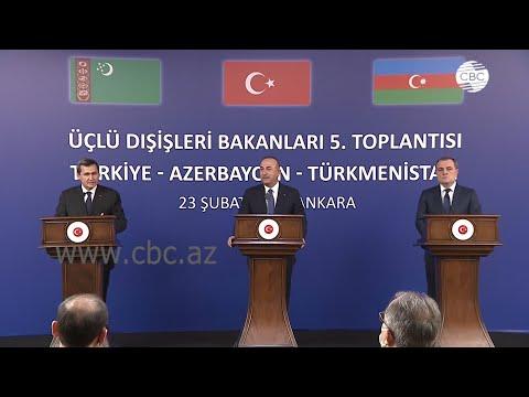 Главы МИД Азербайджана, Турции и Туркменистана подписали совместную декларацию