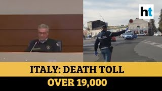 Covid-19: Italy exceeds 19,000 deaths, positive cases rise to over 150,000