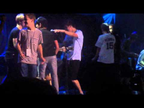 Before You Exit, Alli SImpson and other crashing Ryan Beatty's stage