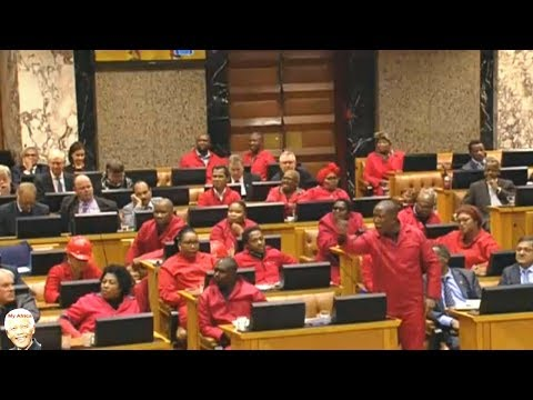 Jacob Zuma Refuse To Answer Questions In Parliament