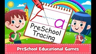 Learn to Trace ABCD Alphabets in 2 minutes for children - Android App