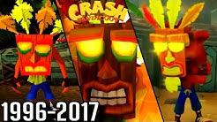 Evolution of Aku Aku Invincibility in Crash Bandicoot (1996-2017)