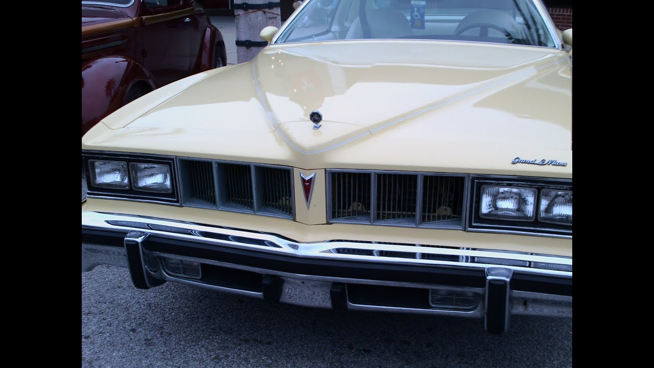 1976 pontiac grand le mans yelwht youtube. Black Bedroom Furniture Sets. Home Design Ideas