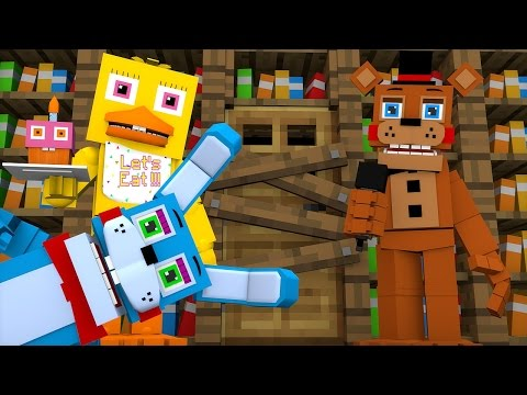 MINECRAFT: CRECHE DE BEBES MONSTROS - BEBÊS FIVE NIGHTS AT FREDDY'S NOS PRENDERAM #4