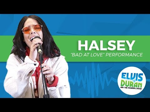 "Halsey - ""Bad At Love"" | Elvis Duran Live"