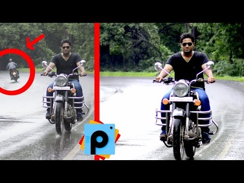 Picsart Editing Tutorial Enhance / improve image quality and remove unwanted objects from photo