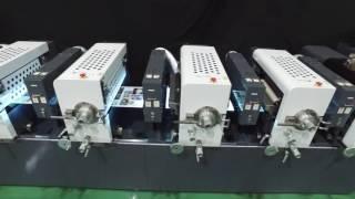 岩崎鉄工株式会社 世界初、間欠輪転フレキソラベル印刷機IF330の紹介で...