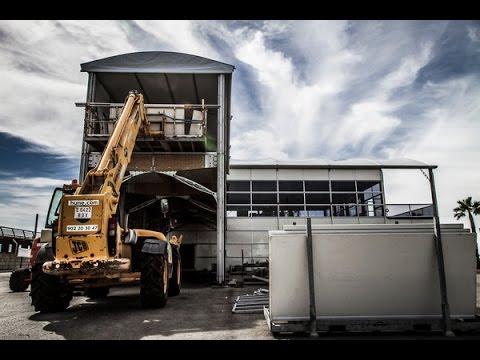 Race revolutionises team base structures | Volvo Ocean Race