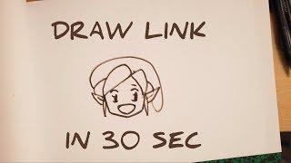 Comment Dessiner Link Kawaii Etape Par Etape How To Draw Link Chibi Step By Step Easy In 30 Sec
