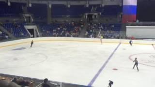 11 09 2016 контрольные прокаты сборной России по фигурному катанию 6