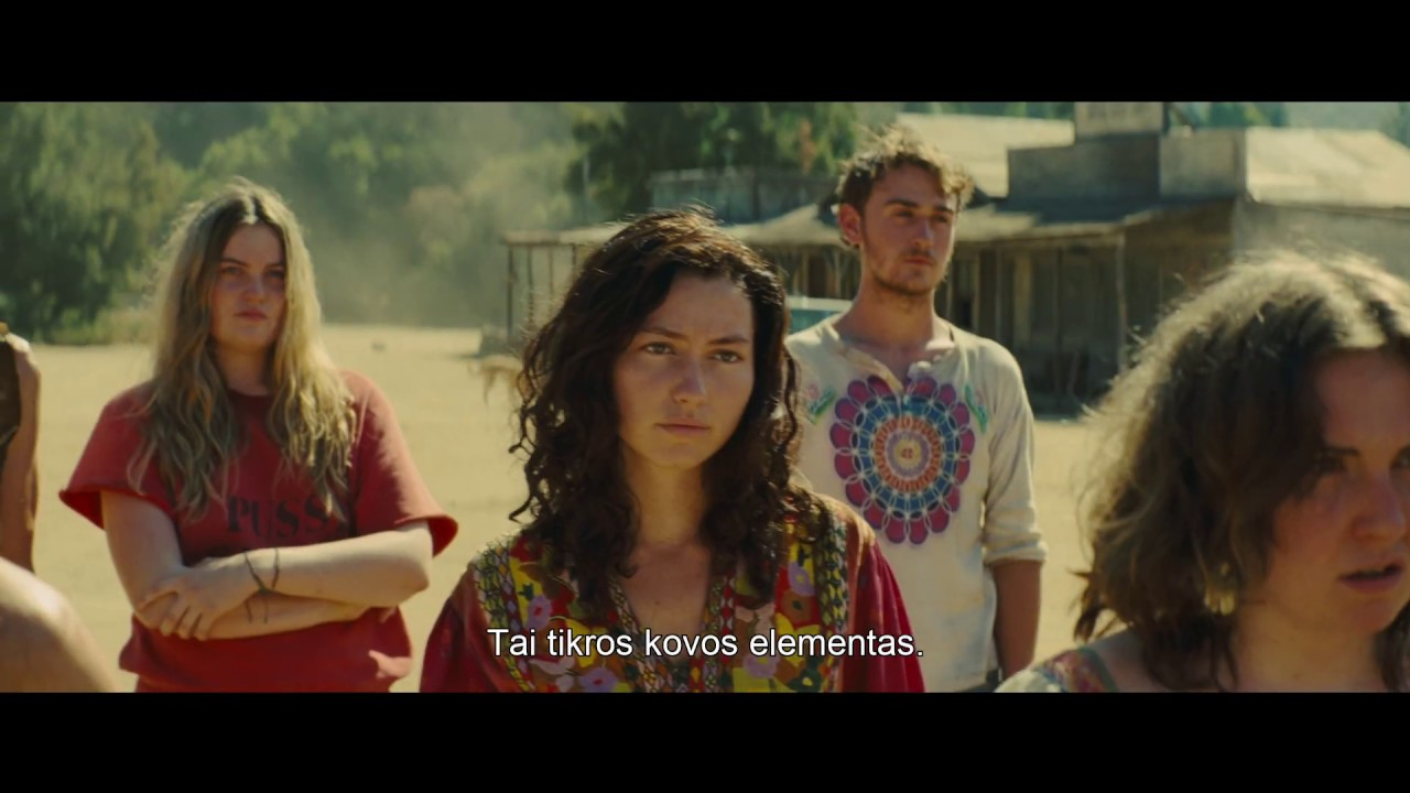 9-asis QUENTINO TARANTINO filmas VIENĄ KARTĄ HOLIVUDE.