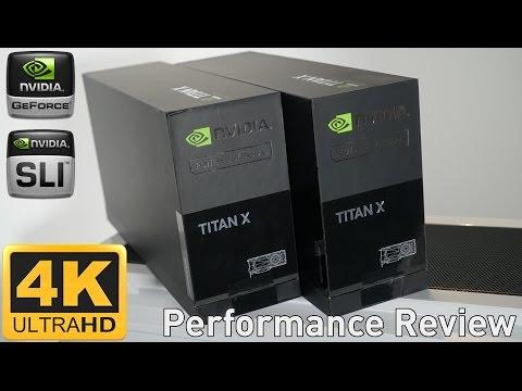 NVIDIA TITAN X Pascal SLI - 4K Gaming Performance Review