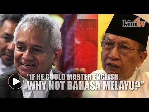 It's not hard to speak BM, Rais Yatim tells AG