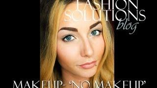 Makeup 'no makeup' Makijaż dzienny  PIERWSZY TUTORIAL! Thumbnail