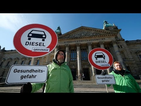 Could UK follow Germany's lead as it prepares diesel ban? | ITV News