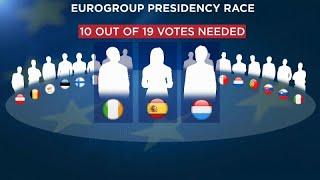 Race for eurogroup presidency ...