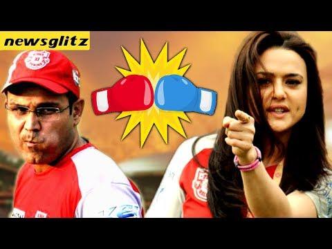 Preity Zinta Blast Against Virender Sehwag : IPL Kings XI Punjab 2018   Ashwin