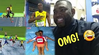 Usain Bolt 200m 2016 Rio Olympic Games, +18 The Trojan Games (REACTION)