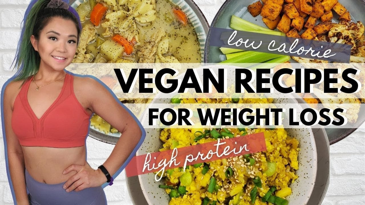 Vegan Low Calorie High Protein High Volume Recipes Youtube