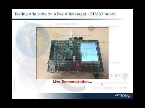 Verification and Validation of Ada and mixed language applications on ARM